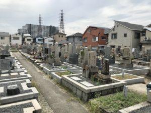 大塚墓地(高槻市)のお墓