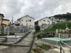 古曽部東墓地(高槻市)のお墓