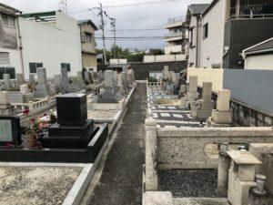 下田部墓地(高槻市)のお墓