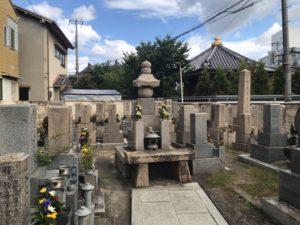 徳庵橋本墓地(東大阪市)のお墓