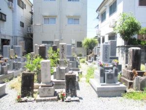 対馬江・黒原・東黒原地区墓地8(寝屋川市)