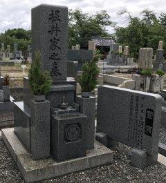 別所自治会墓地でお墓のリフォームをさせていただきました(堀井様)