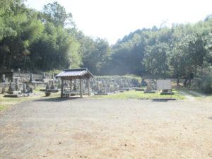 普賢寺野神墓地3(京田辺市)