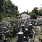 慈願寺境内(高槻市)のお墓