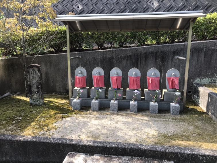 薬師寺霊園(三木市)の六地蔵さん