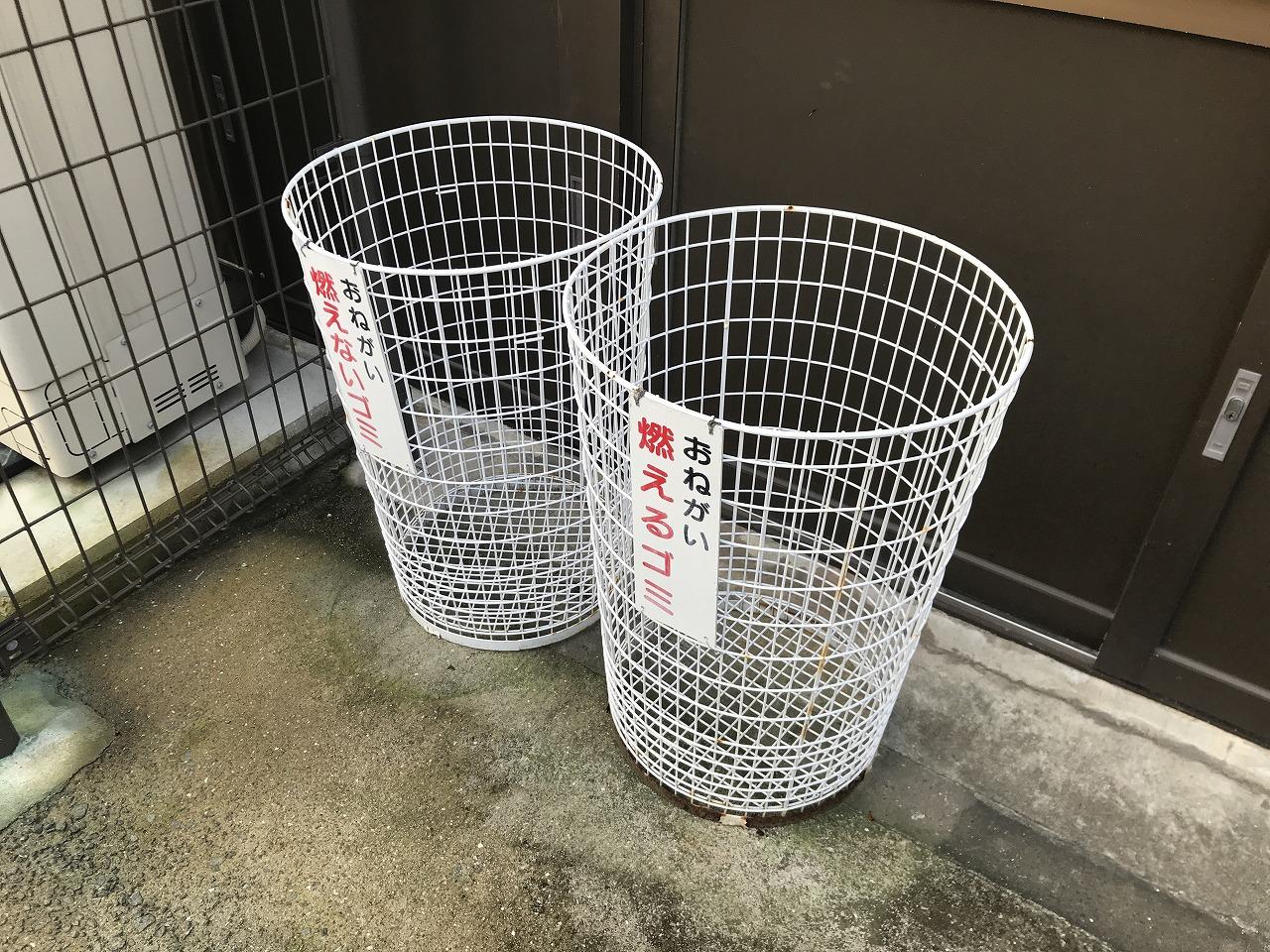 (神戸市)久遠寺のゴミ箱