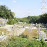 多々羅住建寺墓地(京田辺市)