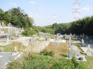 多々羅住建寺墓地3(京田辺市)