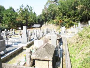 普賢寺野神墓地9(京田辺市)
