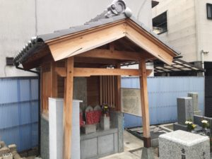 諸福新田太子田墓地(大東市)のお墓