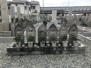 上津島霊園(豊中市)のお墓