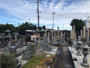 北山口墓地のお墓