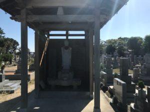 豊中市にある穂積墓地です。