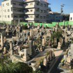 豊中市にある上新田墓地です。