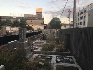 大島・島江共同墓地(豊中市)のお墓
