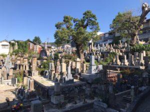 上石切墓地(東大阪市)のお墓