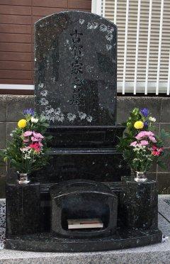 瓦林地区墓地でお墓を建立させていただきました(古賀様)