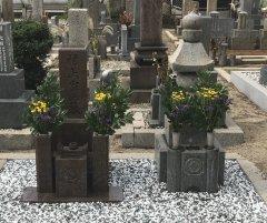 高松墓地でお墓のリフォームをさせていただきました(村上様)