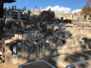 神立共同墓地(八尾市)の無縁塚