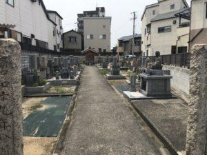西八尾座墓地(八尾市)のお墓