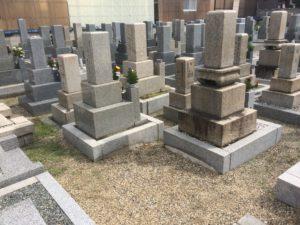 萱振墓地(八尾市)のお墓