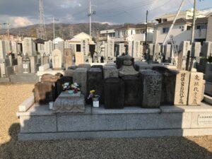 二俣墓地(八尾市)のお墓
