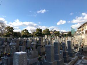 万願寺墓地(八尾市)のお墓