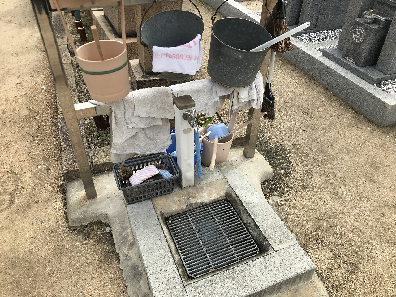 福厳寺(神戸市兵庫区)の水場