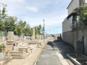 一津屋西墓地(摂津市)