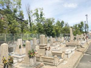 一津屋西墓地(摂津市)のお墓