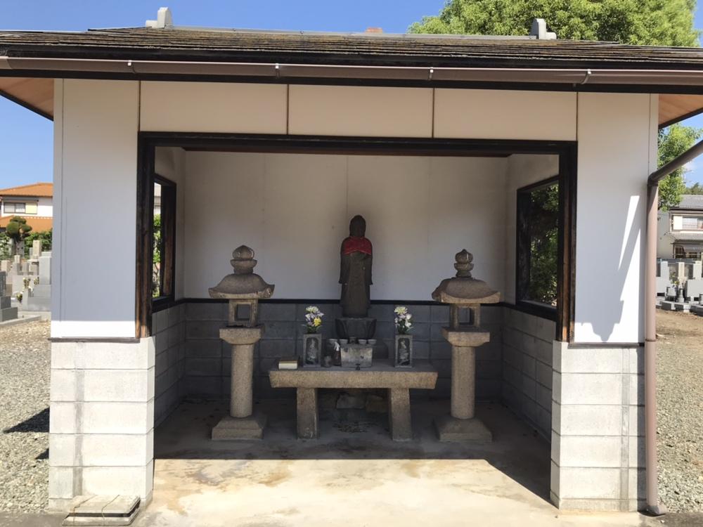 加茂共同墓地(川西市)の地蔵さん