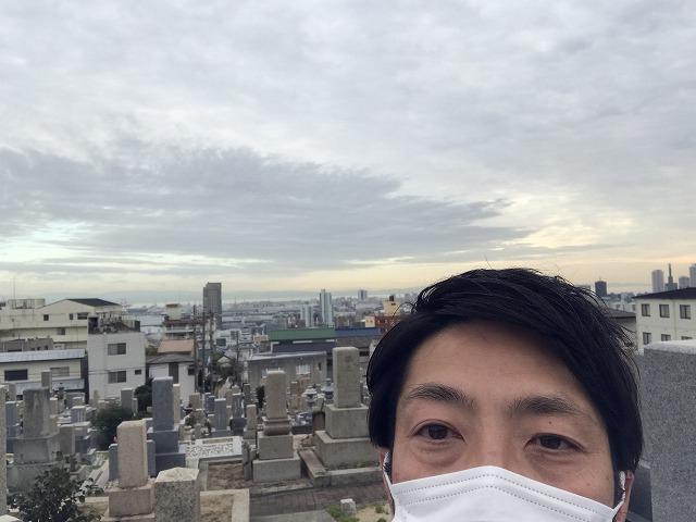 神戸支店長吉谷です。春日野墓地(神戸市中央区)にて現確でした。