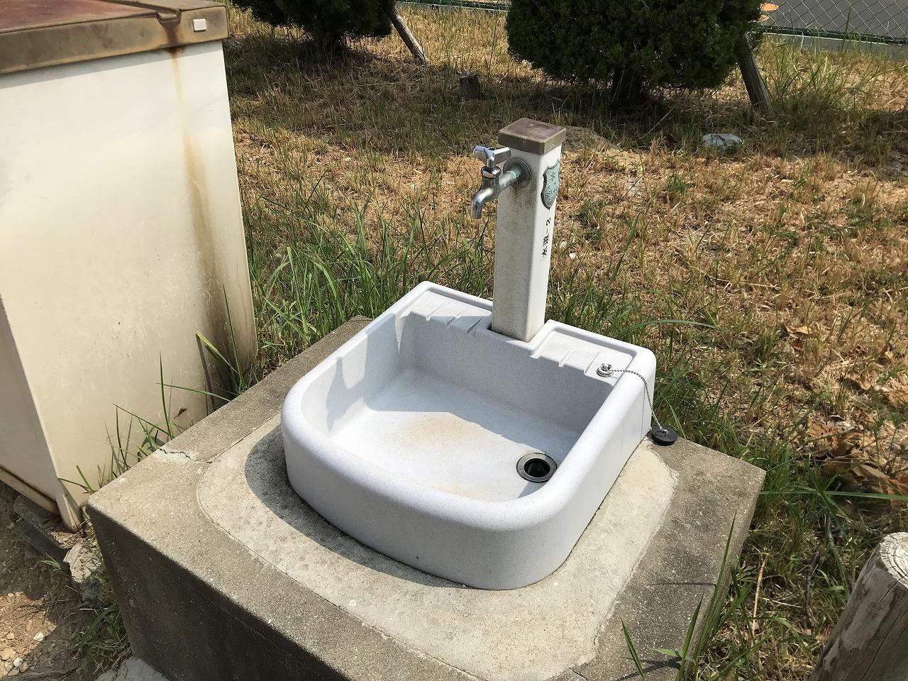 神戸市立舞子墓園(神戸市垂水区)の水場