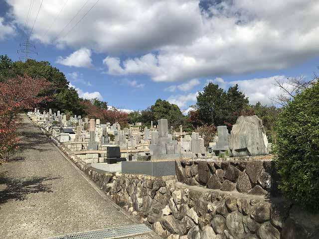 宝塚市営西山霊園のお墓