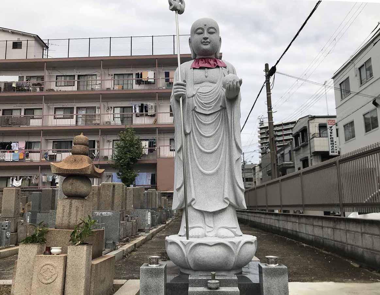 能福寺(神戸市兵庫区)の地蔵