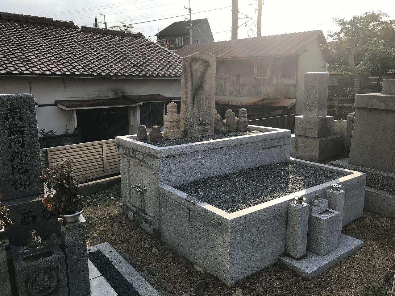 小花霊園(川西市)の無縁さん