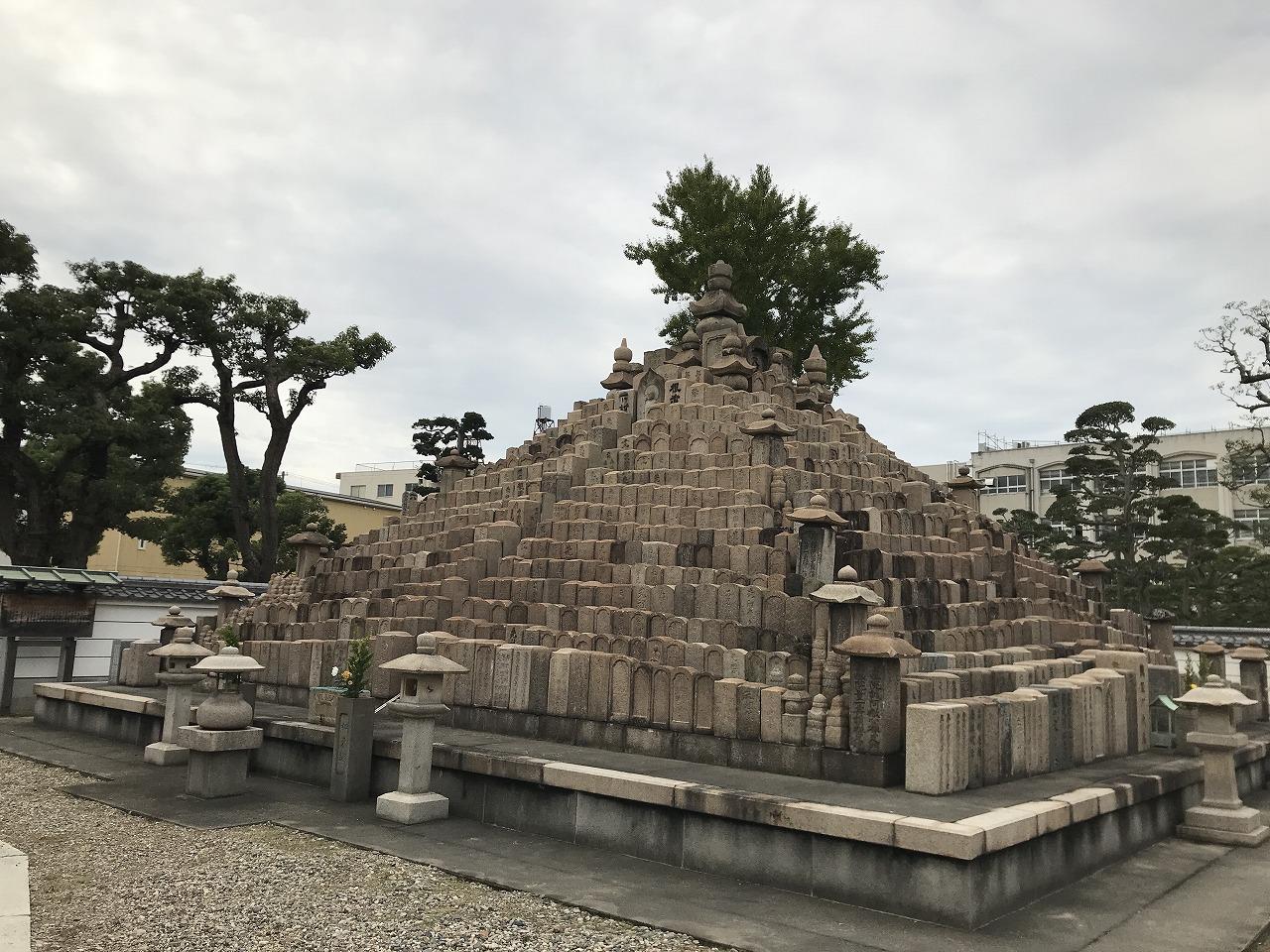 真光寺(神戸市兵庫区)の無縁如来塔