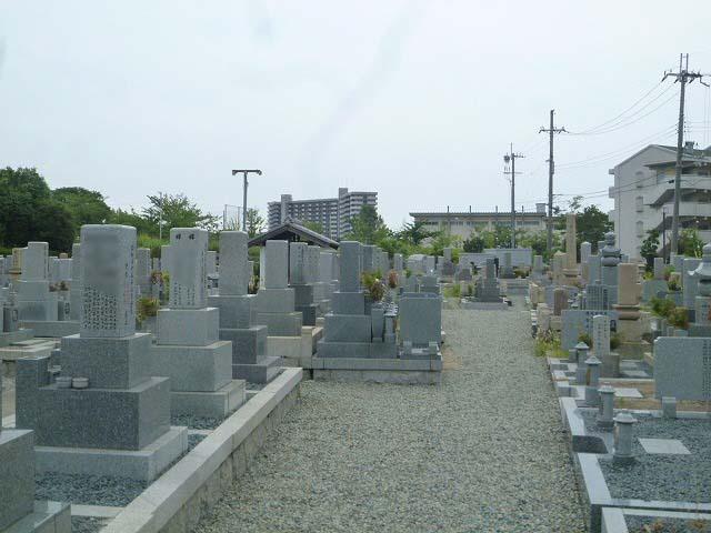 戸ノ内墓地の様子
