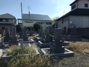 岡町北墓地(豊中市)のお墓