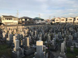 堀新墓地(貝塚市)のお墓