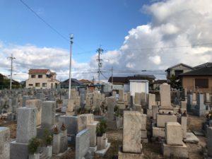 三昧墓地(和泉市)のお墓