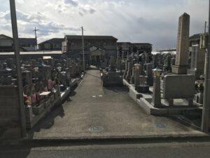 新川墓地(堺市中区)のお墓