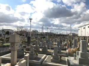 八尾市立安中墓地(八尾市)のお墓