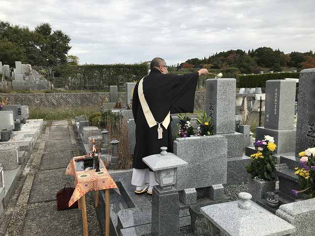 神戸市営西神墓園 お墓じまい及びお魂抜きでした