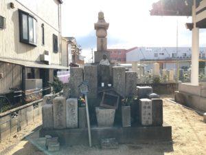 八尾市立安中墓地(八尾市)の無縁塚