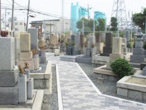 別府墓地(摂津市)のお墓