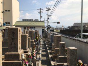 横堤墓地(鶴見区)のお墓
