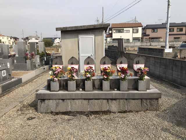 福里墓園(明石市)の六地蔵さん