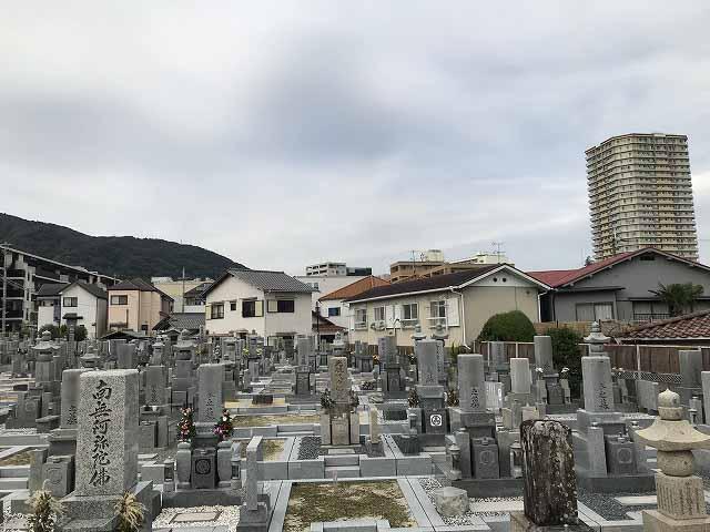 伊孑志墓地(宝塚市)のお墓