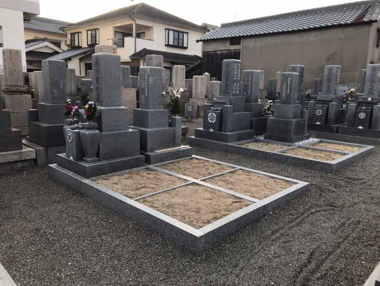 観音寺墓地(明石市)の墓地空き区画